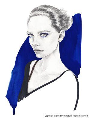 BLUE PORTRAIT2