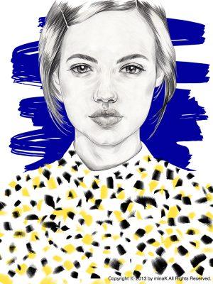 BLUE PORTRAIT3