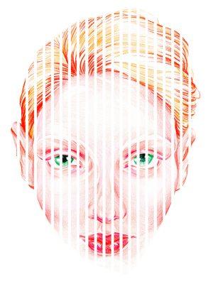 face stripe