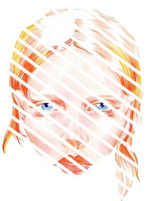 face stripe series